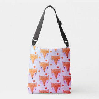 Sly Fox Watercolor Crossbody Bag