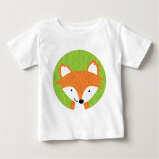 Sly Little Fox- Woodland Friends Baby T-Shirt