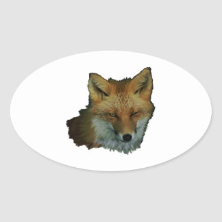 Sly Little One Oval Sticker