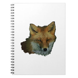 Sly Little One Spiral Notebook