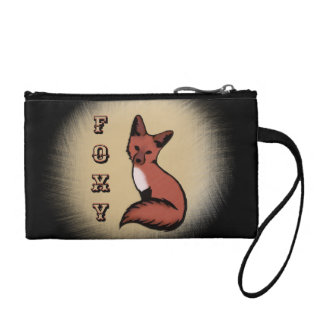 Sly Red Foxy Fox Coin Purse