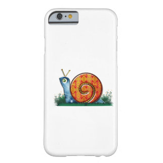 Sly Snail in Garden Grass Barely There iPhone 6 Case