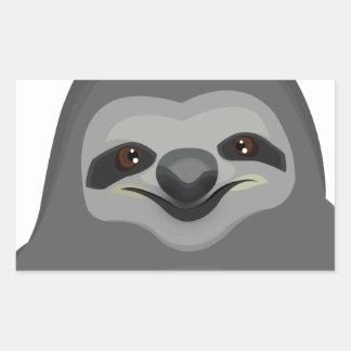 Sly The Sloth Rectangular Sticker