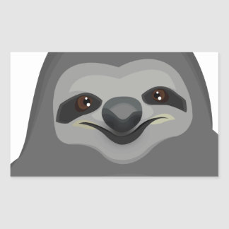 Sly The Sloth Rectangle Stickers