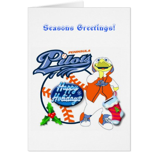 Slyder Seasons Greetings! Card
