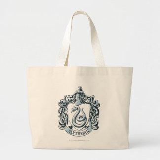 Slytherin Crest Blue Tote Bag