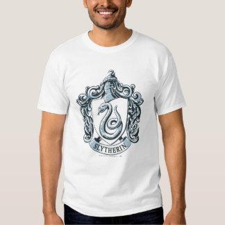 Slytherin Crest Blue Tshirt