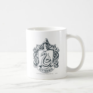 Slytherin Crest Classic White Coffee Mug
