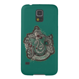 Slytherin Crest - Destroyed Case For Galaxy S5