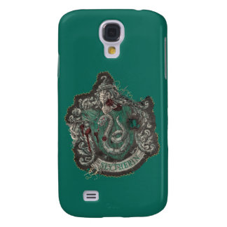 Slytherin Crest - Destroyed Galaxy S4 Cover