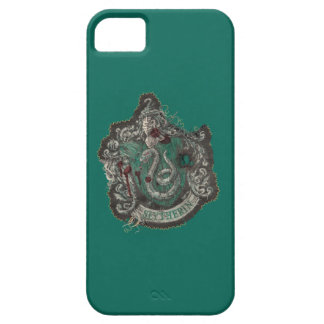 Slytherin Crest - Destroyed iPhone 5 Cases