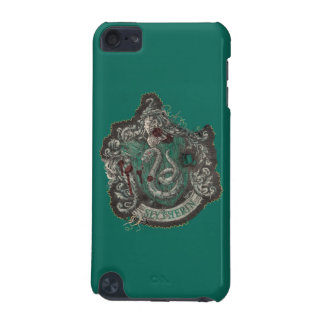Slytherin Crest - Destroyed iPod Touch 5G Cases