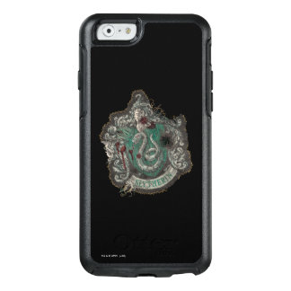Slytherin Crest - Destroyed OtterBox iPhone 6/6s Case