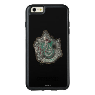 Slytherin Crest - Destroyed OtterBox iPhone 6/6s Plus Case