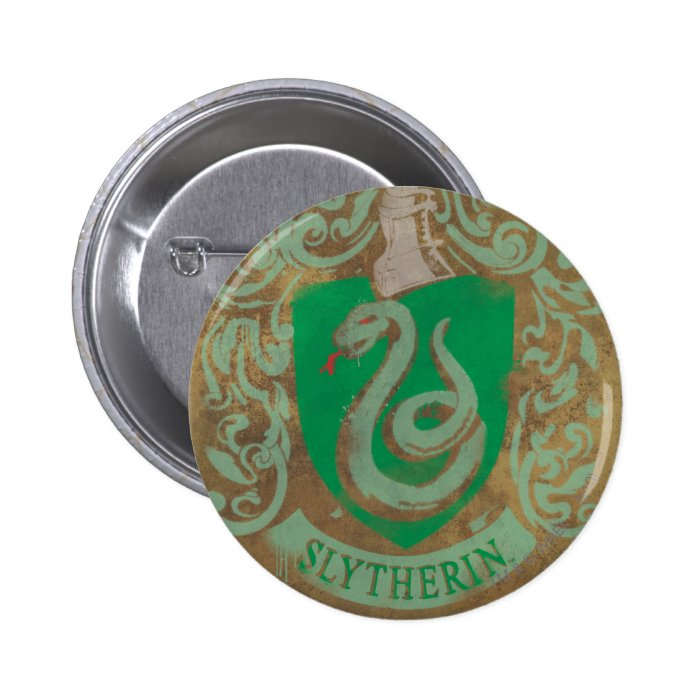 Slytherin Crest HPE6 6 Cm Round Badge