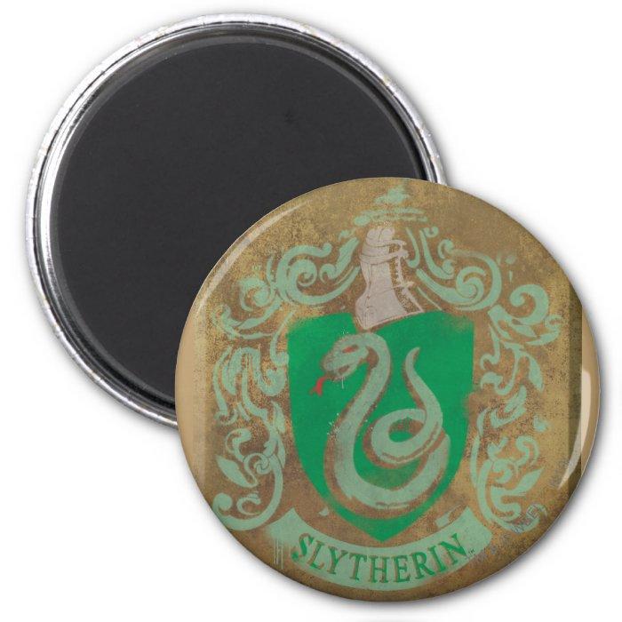 Slytherin Crest HPE6 6 Cm Round Magnet