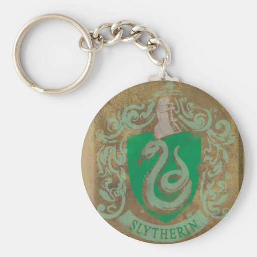 Slytherin Crest HPE6 Keychains