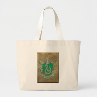 Slytherin Crest HPE6 Tote Bags