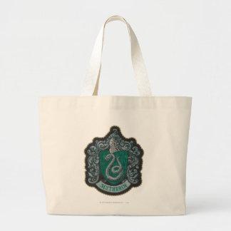 Slytherin Crest Jumbo Tote Bag