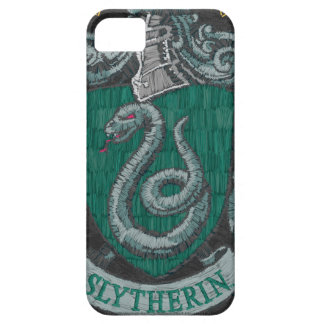 Slytherin Destroyed Crest iPhone 5 Cases