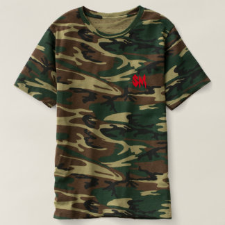 [SM] Camouflage T-shirt