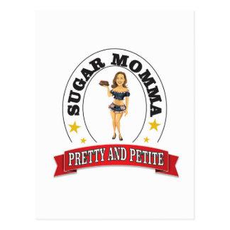 sm pretty and petite postcard
