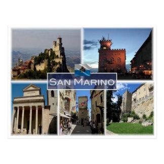 SM San Marino - Postcard