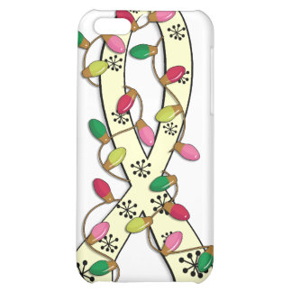 SMA Christmas Lights Ribbon iPhone 5C Cover