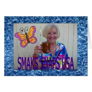 SMAKS SNAPS USA CARD
