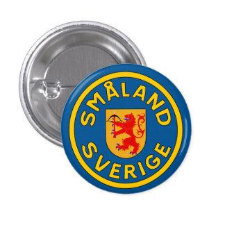 Småland (Sverige) 3 Cm Round Badge