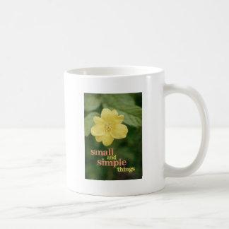 Small and Simple Things Mug