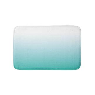 SMALL AQUA OMBRE BATH MAT