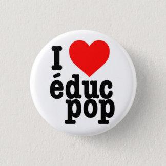 Small Badge I coils pop educ