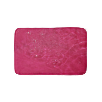 Small Bath Mat Eau Fond Rose