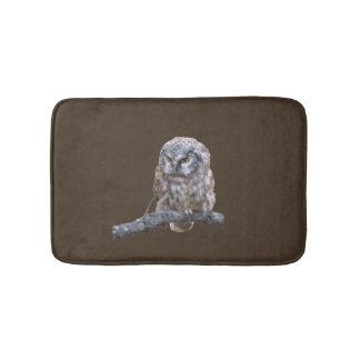 Small Bath Mat w/ owl