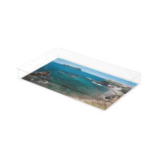 Small bay and islet acrylic tray