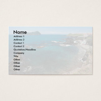Small bay and islet business card
