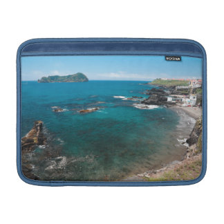 Small bay and islet MacBook sleeve