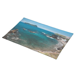 Small bay and islet placemat