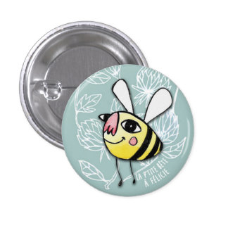 Small Bee - Little Bee Félicie 3 Cm Round Badge