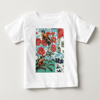 Small birds and flowers baby T-Shirt