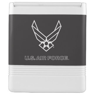Small Black Air Force Logo with Outline Esky