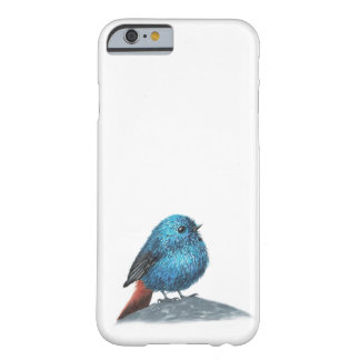 Small blue bird barely there iPhone 6 case