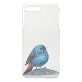 Small blue bird iPhone 8 plus/7 plus case