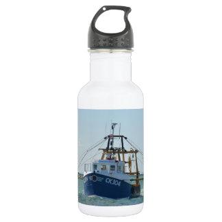 Small Blue Fishing Boat 532 Ml Water Bottle