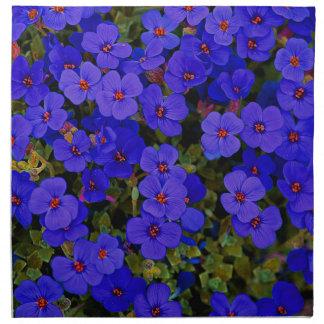 Small Blue Flowers Napkin