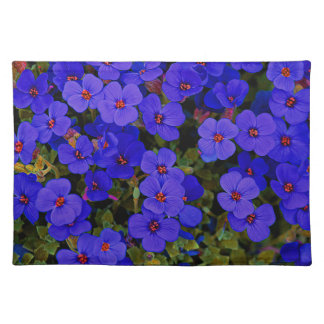 Small Blue Flowers Placemat