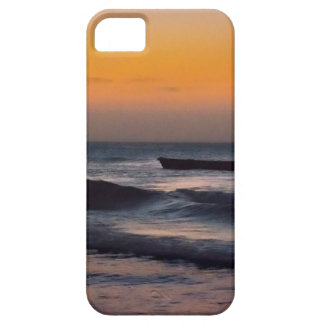 Small Boat at Sea Jericoacoara Brazil iPhone 5 Case