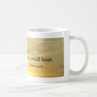 Small Boat Basic White Mug