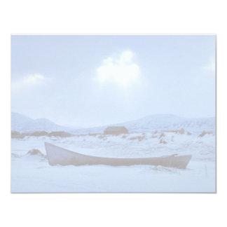 Small Boat on Shore Invite